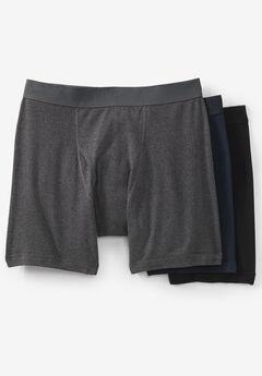 Cotton Boxer Briefs 3-Pack,