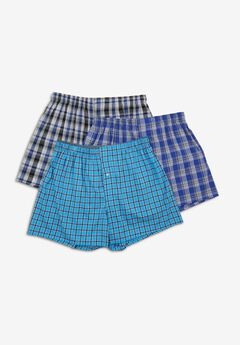 Hanes® Woven Boxers 3-Pack,