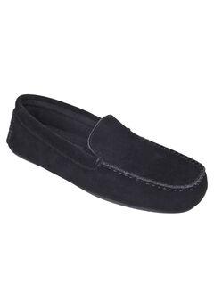 L.B. Evans Darren Suede Moccasin Slippers,