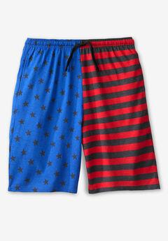 Cotton Jersey Pajama Shorts,