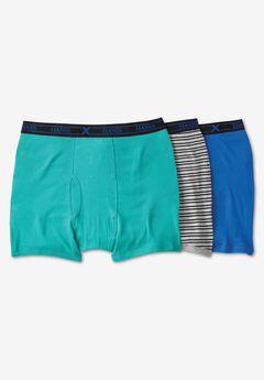 Hanes® FreshIQ® X-Temp® Comfort Cool ® Boxer Briefs 3-Pack,