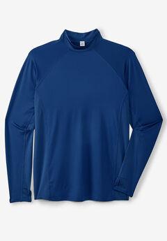 Mock Neck Base Layer Shirt by KS Sport™,