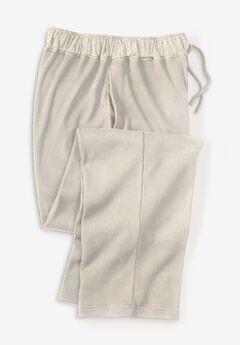 Heavyweight Thermal Waffle Pajama Pants,