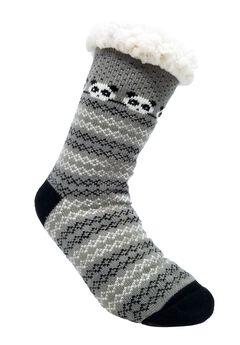 Panda Slipper Socks,