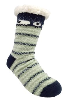 Sheep Fairisle Slipper Socks,