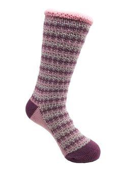 Allover Fairisle Thermal Socks,