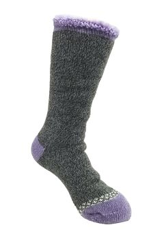 Solid Color Thermal Socks,