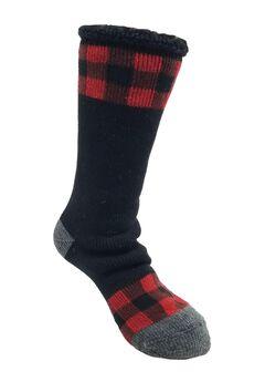 Buffalo Check Thermal Socks,