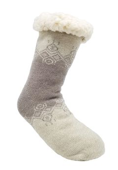 Colorblock Pattern Slipper Socks,