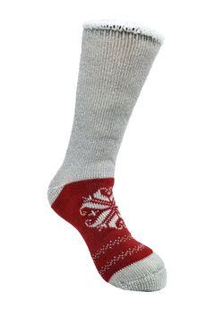 Heart Snowflake Thermal Socks,