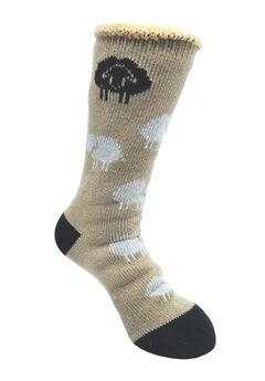 Allover Sheep Thermal Socks,