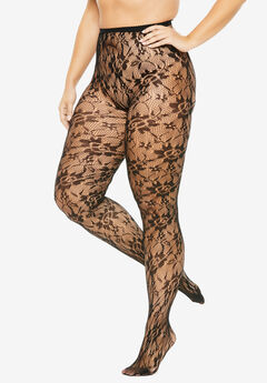 2-Pack Lace Tights ,