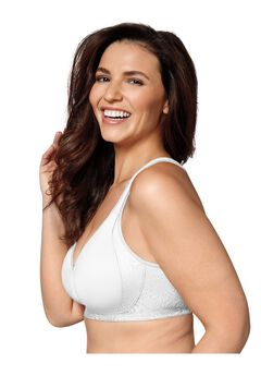 18 Hour Back And Side Smoothing Wirefree Bra US4049,