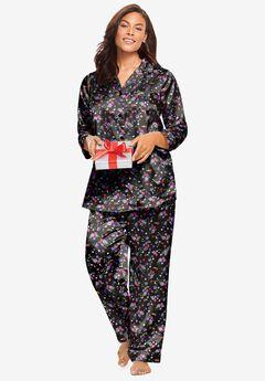 The Luxe Satin Pajama Set ,