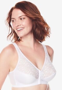 Front-Close Lace Wireless Posture Bra 5100565,