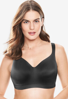 Solid Full-Coverage Smooth No-Wire Bra,