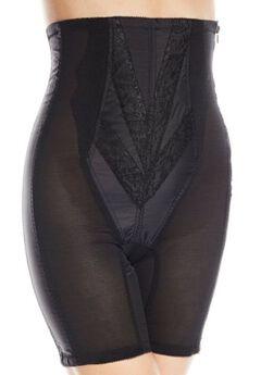 No Top Roll High Waist Long Leg w/ Zipper,