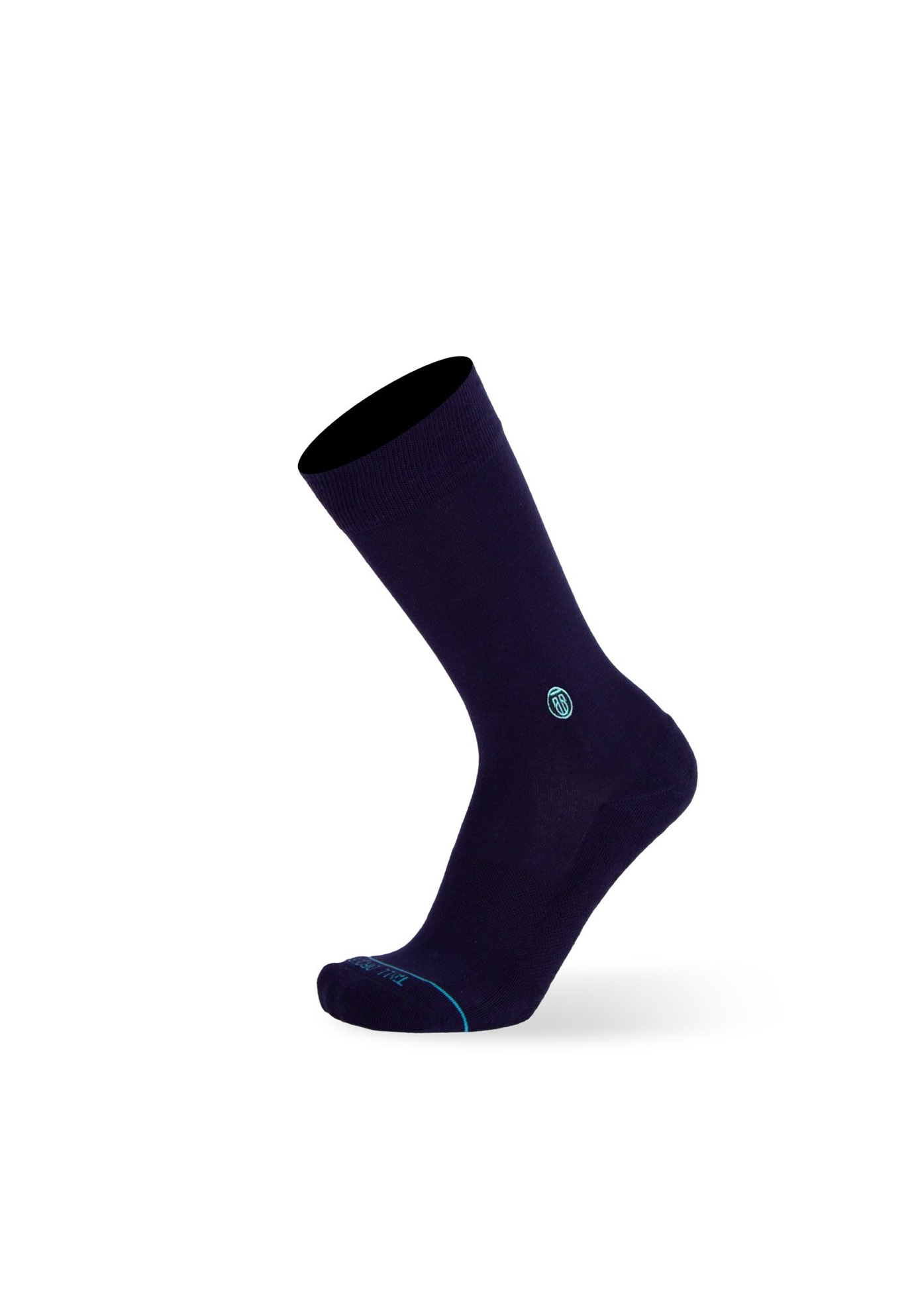 The Solid Navy Socks,