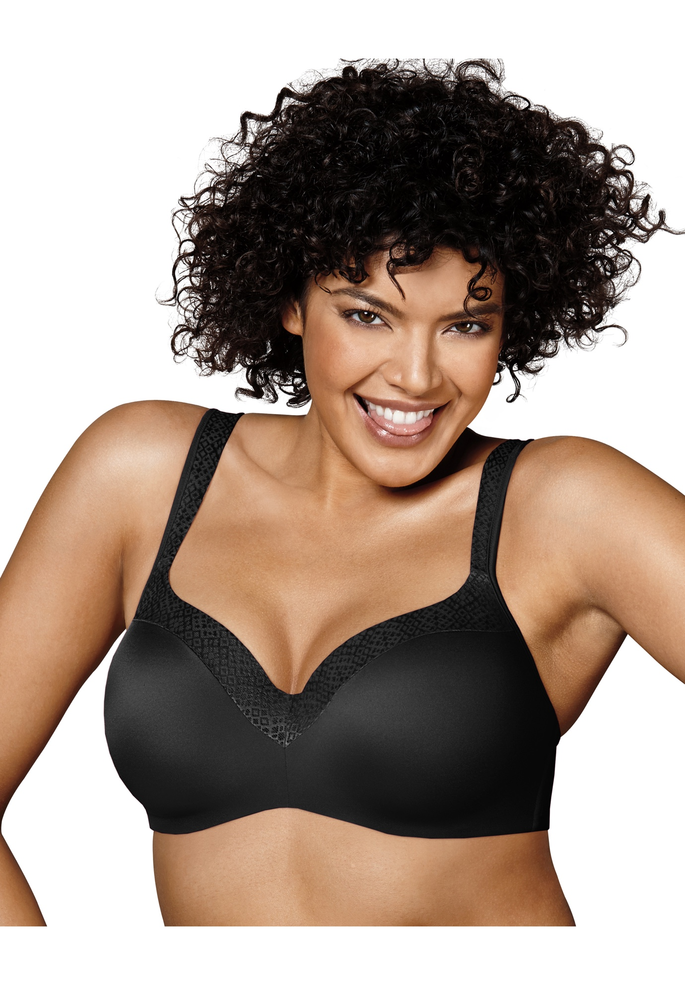 Ultimate T-Shirt Soft Natural Lift Foam Wirefree Bra US4823,