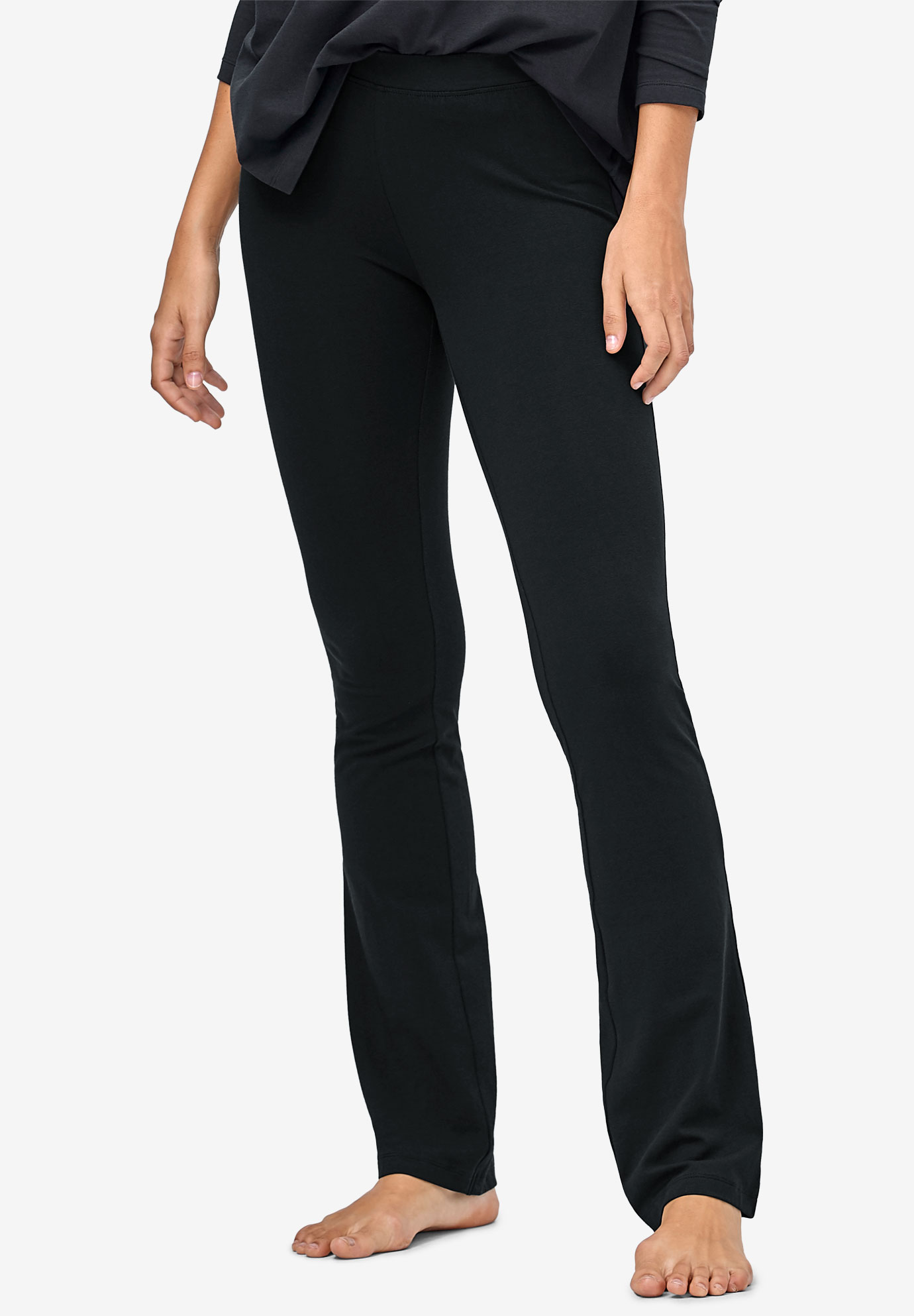 Stretch Bootcut Sleep Pants,