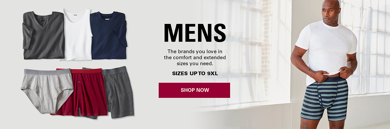 Mens Shoes - The brands you love in the comfort and extended sizes you need. Sizes up to 18 & extra wide widths - Shop Mens